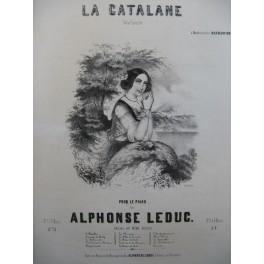 LEDUC Alphonse La Catalane Piano 1845