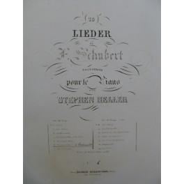 SCHUBERT Franz Rosemonde Piano ca1838