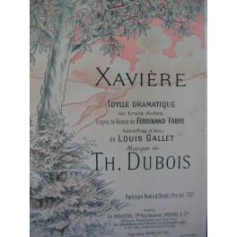 DUBOIS Théodore Xavière Opéra Chant Piano 1895