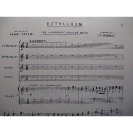 GOUNOD Charles Bethlehem chant piano
