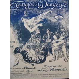 BÉNECH Louis Le Tango de la Danseuse Chant Piano 1924