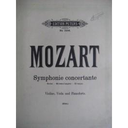 MOZART W. A. Symphonie concertante KV 364