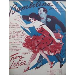 LEHAR Franz Bambolina Chant Piano 1924