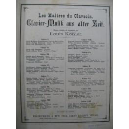 Les Maîtres du Clavecin 13 cahiers reliés ca1875