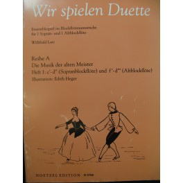 Wir Spielen Duette 48 pièces Flûte à bec 1992