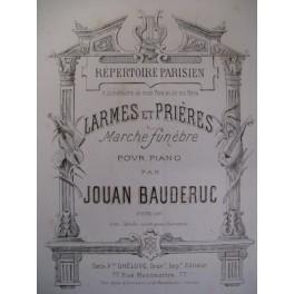 JOUAN BAUDERUC Larmes et Prières piano