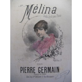 GERMAIN Pierre Mélina piano