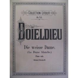 BOIELDIEU Adrien La Dame Blanche piano