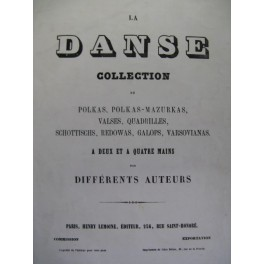ASCHER Joseph Polka villageoise piano 1859