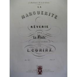 CONINX L. La Marguerite flute piano