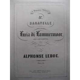 LEDUC Alphonse Donizetti Bagatelle piano 1870