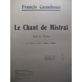 CASADESUS Francis violon piano