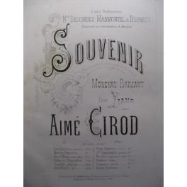 GIROD Aimé Souvenir piano
