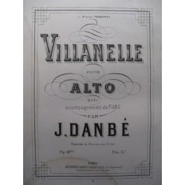 DANBÉ Jules Villanelle Alto Piano 1877