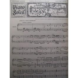 Piano Soleil N° 8 Août 1894 Meyerbeer piano