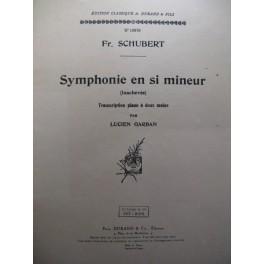 SCHUBERT Franz Symphonie Si min piano