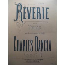 DANCIA Charles Rêverie violon piano