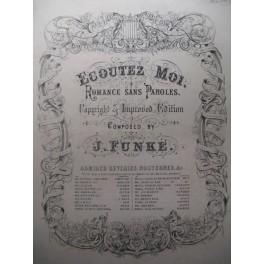 FUNKE J. Ecoutez moi piano ca1875