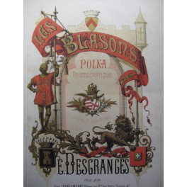 DESGRANGES E. Les Blasons piano