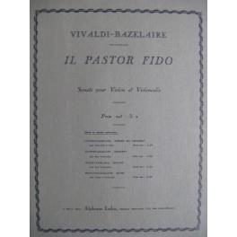 VIVALDI Antonio Bazelaire Il Pastor Fido op. 13