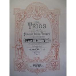 BEETHOVEN Ludwig van Trios Piano Violon Violoncelle