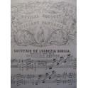 OESTEN Theodore Souvenir de Lucrezia Borgia Piano 1876