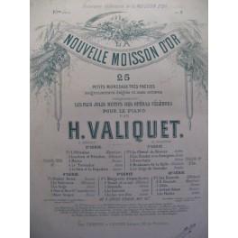 VALIQUET H. Meyerbeer Il Crociato piano ca1868