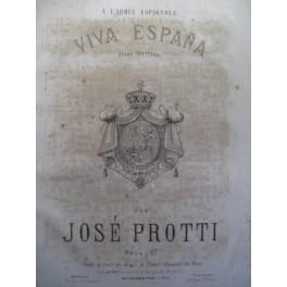 PROTTI José Viva Espana Piano ca1850
