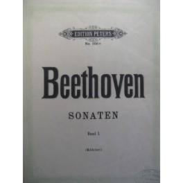 BEETHOVEN Ludwig van Sonaten Band 1