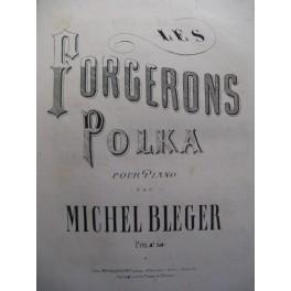 BLEGER Michel Les Forgerons Piano