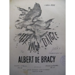 DE BRACY Albert Un Nid d'Aigle piano