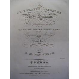 WEBER Carl Maria von Ouverture Piano