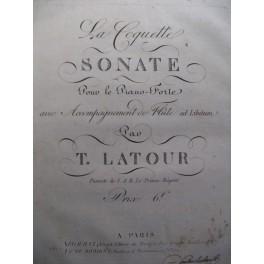LATOUR T. La Coquette Piano 1825