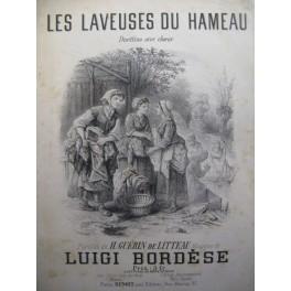BORDESE Luigi Les Laveuses chant piano