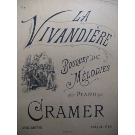 CRAMER Henri Godard La Vivandière Piano