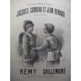 CHILLEMONT J. Corbeau et J. Renard Chant Piano