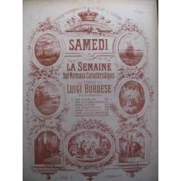 BORDESE Luigi Chanson à Boire Piano