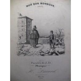 PARAVEL H. Mon Bon Monsieur chant piano