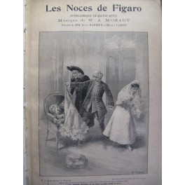 MOZART Wolfgang Amadeus Les Noces de Figaro Opéra