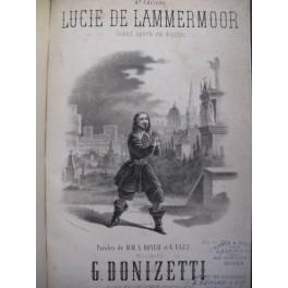 DONIZETTI Gaetano Lucie de Lammermoor Opéra ca1870