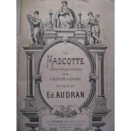 AUDRAN Edmond La Mascotte 1880 Opéra