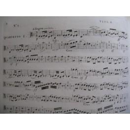 BEETHOVEN Quatuors Intégrale Alto Viola ca1830
