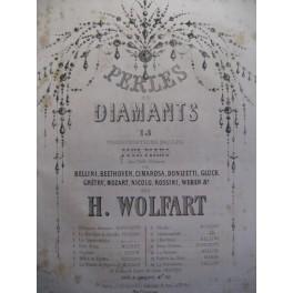 WOLFART H. Weber Robin des Bois piano