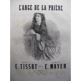 MAYER Ernest L'Ange de la Prière chant piano