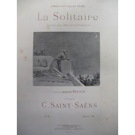 SAINT-SAËNS Camille La Solitaire chant piano 1896