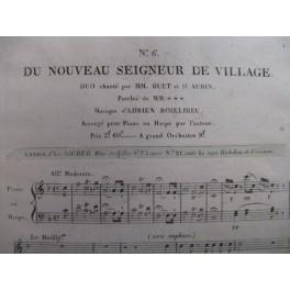 BOIELDIEU Adrien Nouveau Seigneur chant piano ca1820