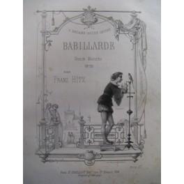 HITZ Franz Babillarde Piano