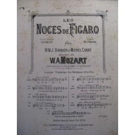 MOZART W. A. Les Noces de Figaro Air Chant Piano