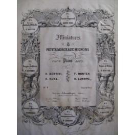 HERZ Henri La Fiancé d'Appenzell Piano ca1830