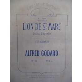 GODARD Alfred Le Lion de St Marc Piano